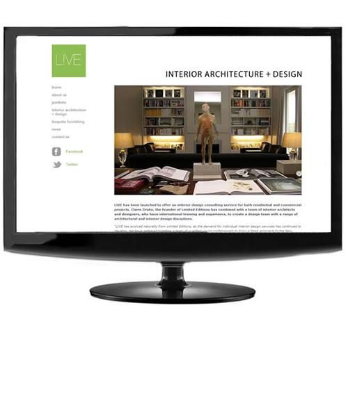 Live Interior Architecture, an interior architecture and design studio