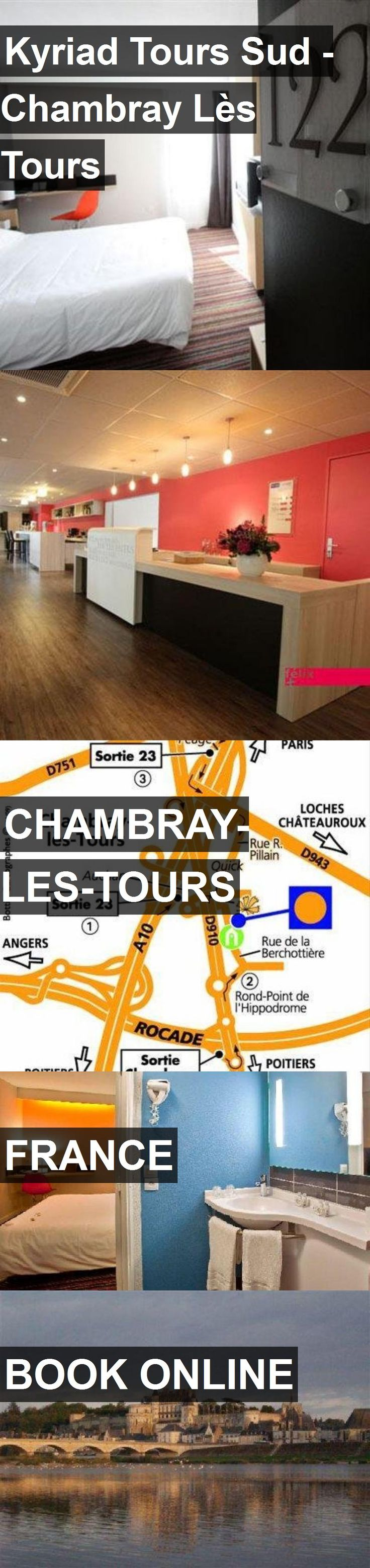 Hotel Kyriad Tours Sud - Chambray Lès Tours in Chambray-les-Tours, France. For more information, photos, reviews and best prices please follow the link. #France #Chambray-les-Tours #travel #vacation #hotel