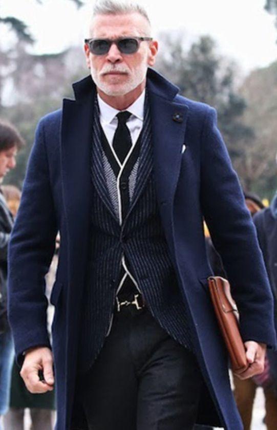 Nick Wooster @ Pitti Uomo, Milan. Men's Fall Winter Fashion.