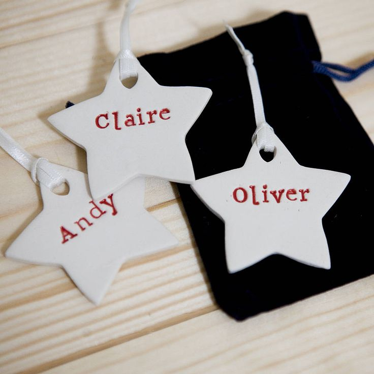 personalised christmas decorations by badgers badgers | notonthehighstreet.com