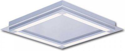 LED Deckenleuchte Wandleuchte Nova C3 42x42cm 22W 4000K Aluminium Jetzt bestellen unter: https://moebel.ladendirekt.de/lampen/deckenleuchten/deckenlampen/?uid=f14555c3-ea35-54aa-a9e8-fcd1db227223&utm_source=pinterest&utm_medium=pin&utm_campaign=boards #deckenleuchten #heim #leuchten #lampen #deckenlampen Bild Quelle: plus.de