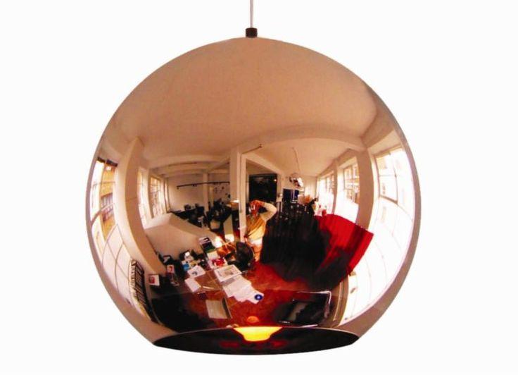 Lampa över köksbord. Tom Dixon.