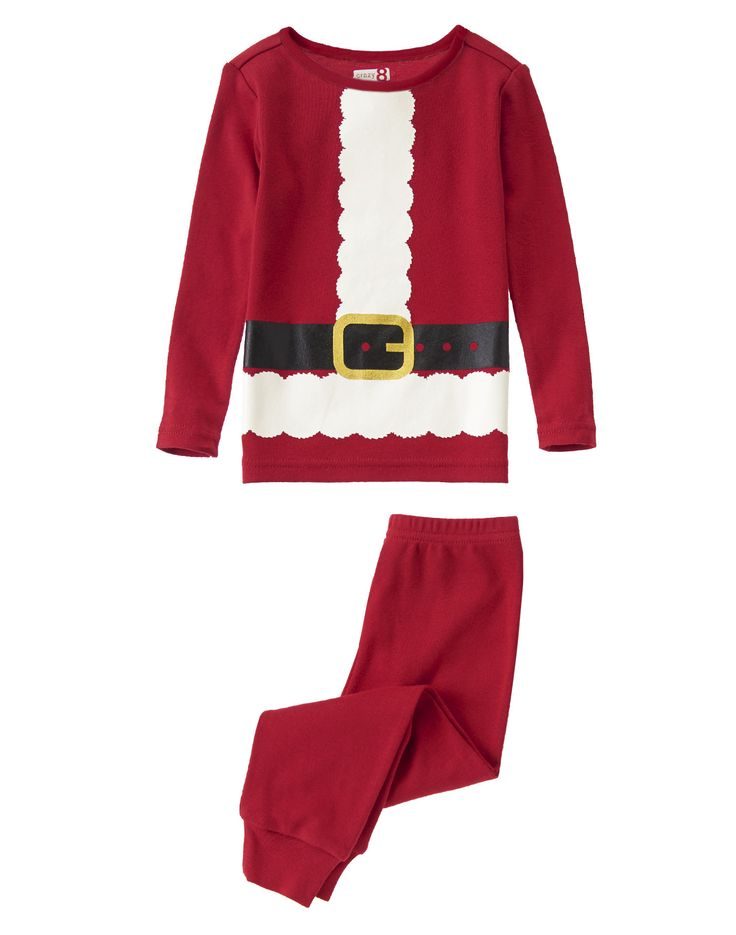 Santa Claus 2-Piece Pajama Set at Crazy 8 $12 ДЛЯ ОБОИХ