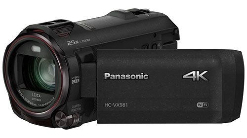 The Panasonic HC-VX981K is a 4K Ultra HD camcorder with WiFi Twin Camera, 4K photo features & Leica Dicomar Lens for highest picture quality. Read the full Panasonic HC-VX981K review. #panasonichcvx981k #panasonic #panasoniccamcorders #camcorders