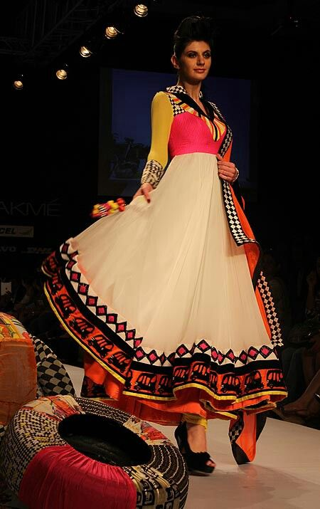anarkali suit with churidar