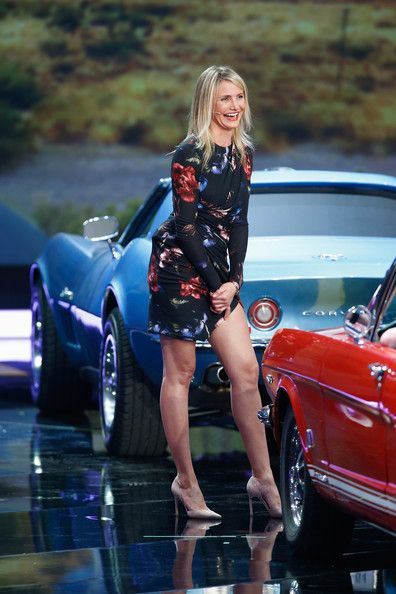 Cameron Diaz Photos Photos - Cameron Diaz attends the 'Wetten, dass..?' tv show on April 5, 2014 in Offenburg, Germany. - 'Wetten, dass..???' From Offenburg