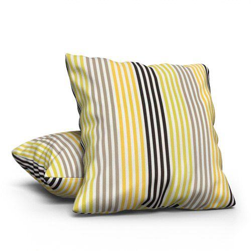 Prestigious Textiles Freeway Lime Cushion