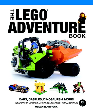 The LEGO Adventure Book Follow Megs on an epic LEGO adventure! Learn some tips and tricks and meet some of the most talented LEGO builders from around the globe.  What will you build with LEGO bricks?