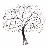 Found it at Wayfair - Iron Tree of Life Wall Decor