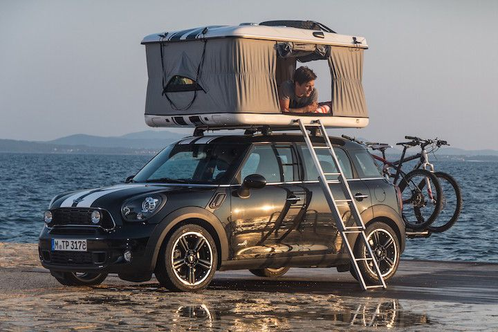 8 Adventurous Vehicles Made For Camping Mini Cooper Mini