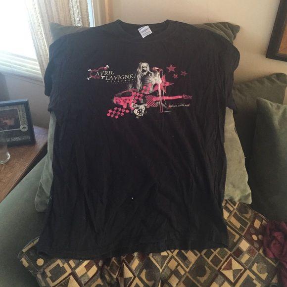 Avril Lavigne Best Damn Tour T shirt Avril Lavigne Best Damn Tour T shirt Tops Tees - Short Sleeve