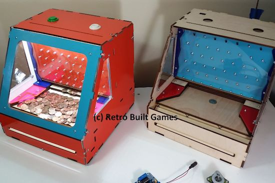 Arduino Blog – Relive some arcade memories with a desktop coin pusher