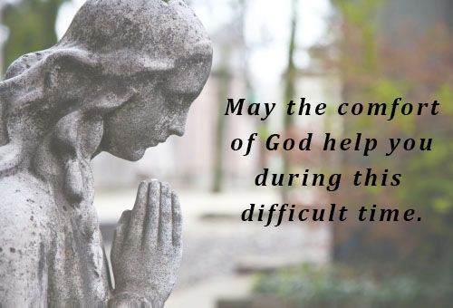 """May the comfort of God help you during this difficult time."" During mourning, it is crucial for us to extend our support to the grieving f..."
