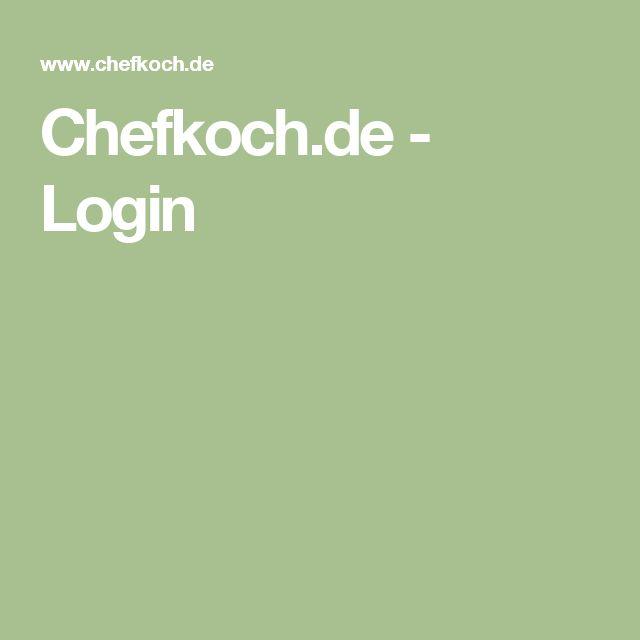Chefkoch.de - Login