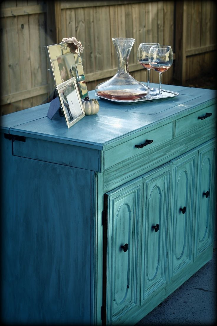 6 Trendy Furniture Colors For The Fashionista. Distressed Turquoise  FurnitureTurquoise DresserRefinished FurnitureDiy ... - Best 25+ Distressed Turquoise Furniture Ideas On Pinterest