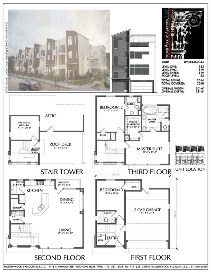8 best brownstone floorplans images on pinterest 3 4 for Brownstone building plans