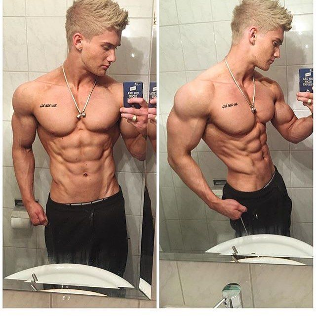Ultimate physique goals!  @zacaynsley keep inspiring People like you inspire me  Hope to reach your physique one day  by johanrickling
