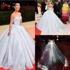 Το φόρεμα των ονείρων μου!!! Κορίτσια δεν είναι τέλειο;  Μπείτε στο #DutchesssDaily για να μάθετε όλες τις λεπτομέρειες!  #omg #dreamdress #metgala #clairedanes