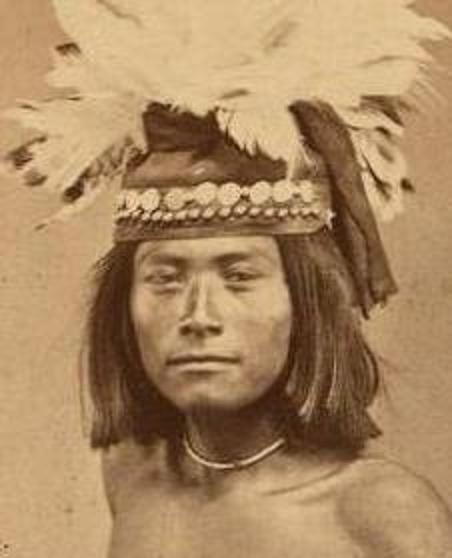 Scout of W. Apaches identified as Jim Dandy, hanged for Cibicu riots.