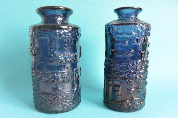 Ruda Glasbruk Glass Vase designed by Göte by vintagemoodsNL