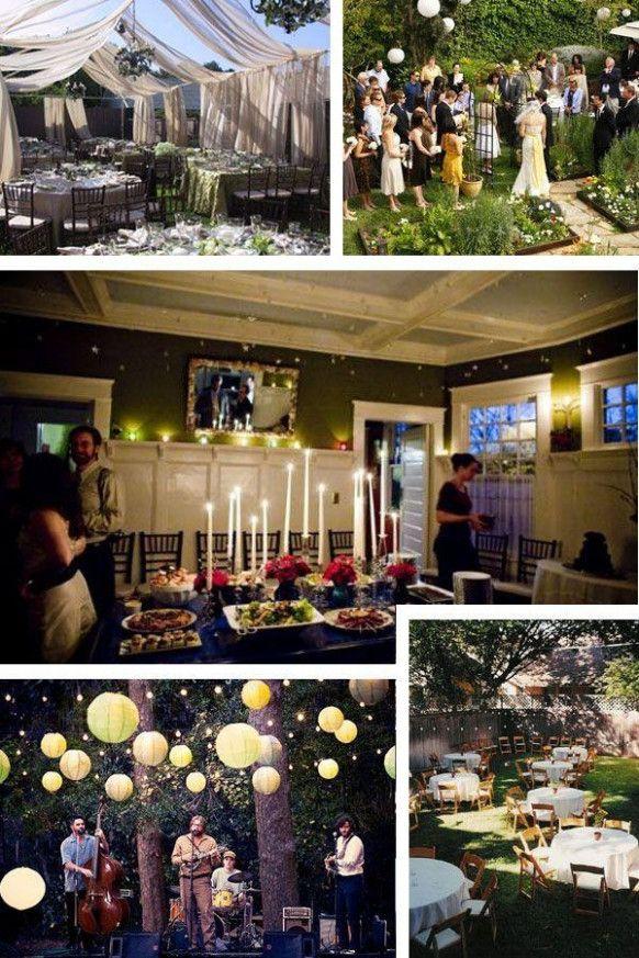 Small Wedding Reception At Home Wedding Stationery Pinterest