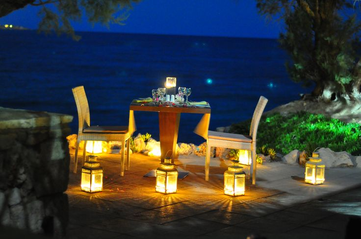 Romantic dinners @ Aquis #Greece