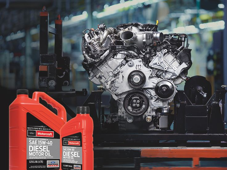 Motorcraft Diesel Oil Introduced to Meet WSS-M2C171-F1 Specification