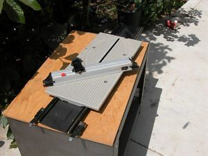 "Sliding Miter Table Ryobi 10"" Table Saw BT3100 BT3000"