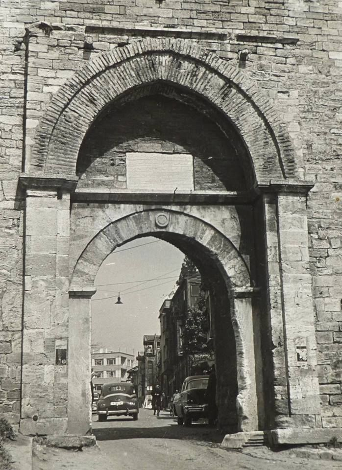 The Gate of Yedikule / 1965   Old Istanbul Photo …
