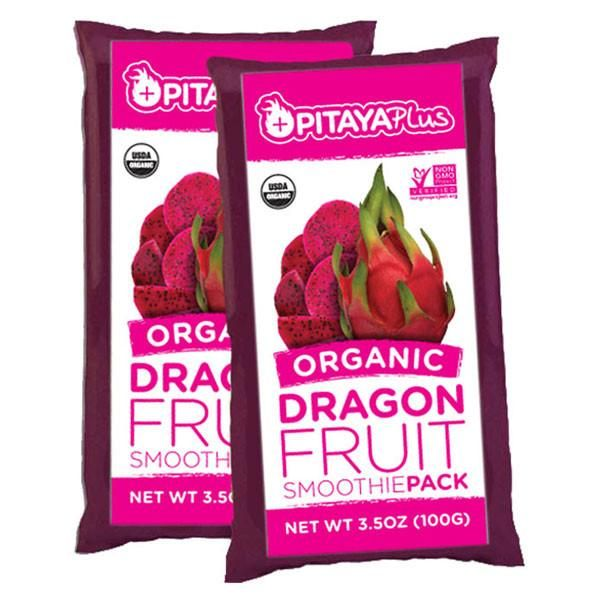 Make your own smoothies with these RAW, Organic Pitaya / Dragonfruit Smoothie Packs, Packed with Fiber, Antioxidants and natural Anti-inflammatories.