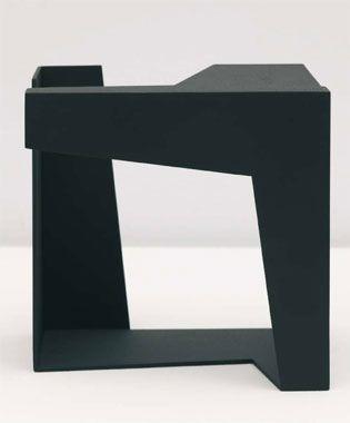 Jorge Oteiza Caja vacía, 1958 Chapa 20 x 20 x 20 cm