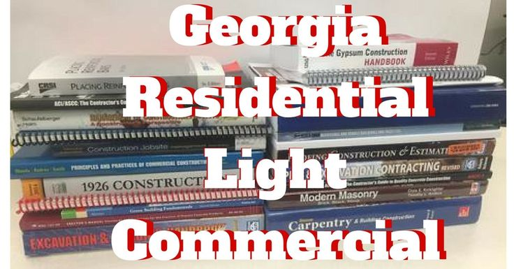 Georgia Residential - Light Commercial Contractors Book Bundle