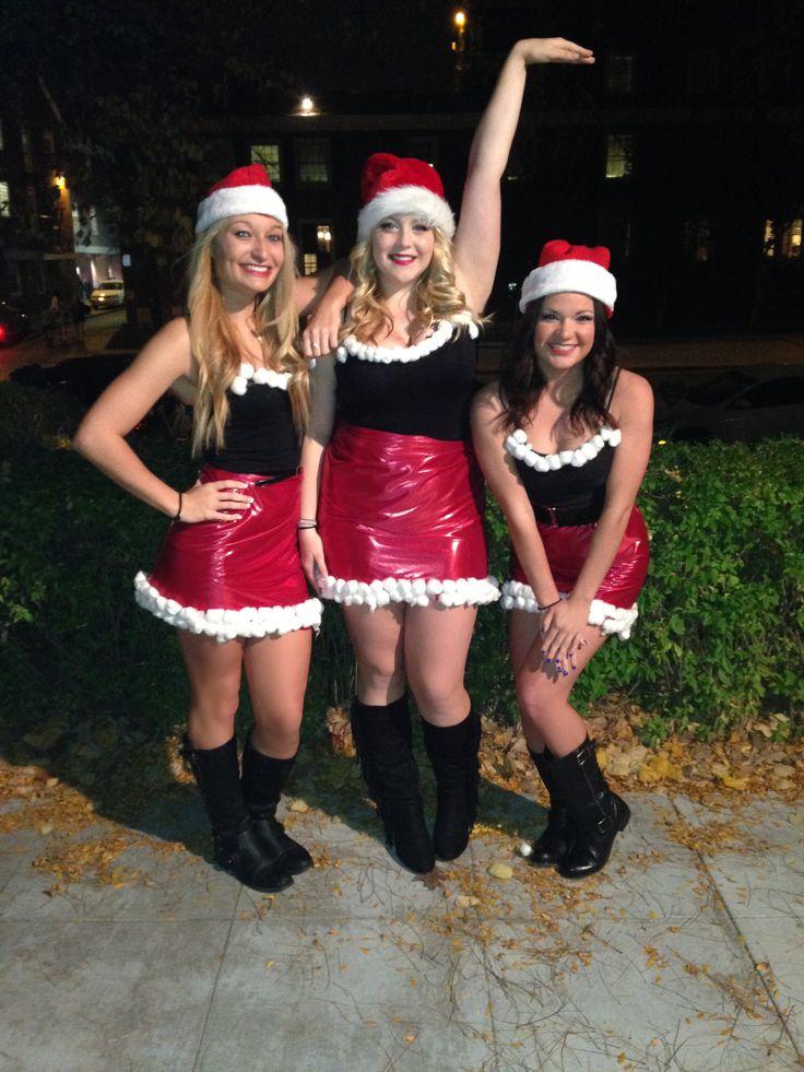"Easy DIY halloween Costume! Mean Girls ""Jingle Bells Rock"