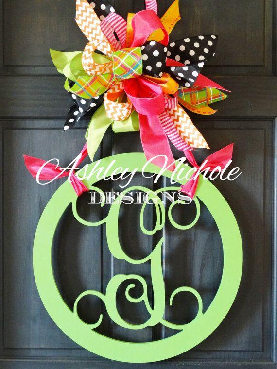Best Wood Door Hangings Images On   Christmas Diy