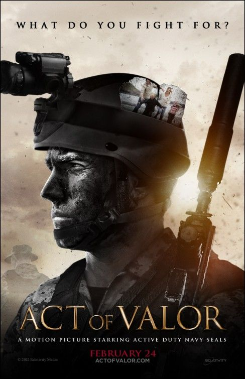 act of valor. AMAZING movie