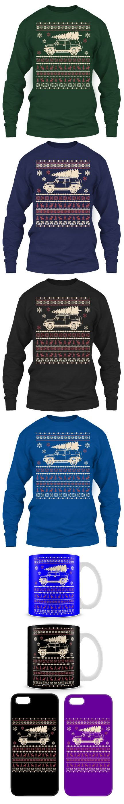 Toyota FJ Cruiser Ugly Christmas Sweater!  Then Click The Image To Buy It Now or Tag Someone You Want To Buy This For.