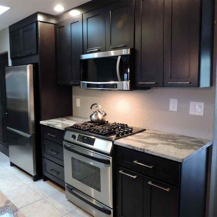 Desoto Charcol Shaker | Black kitchen cabinets, New ...