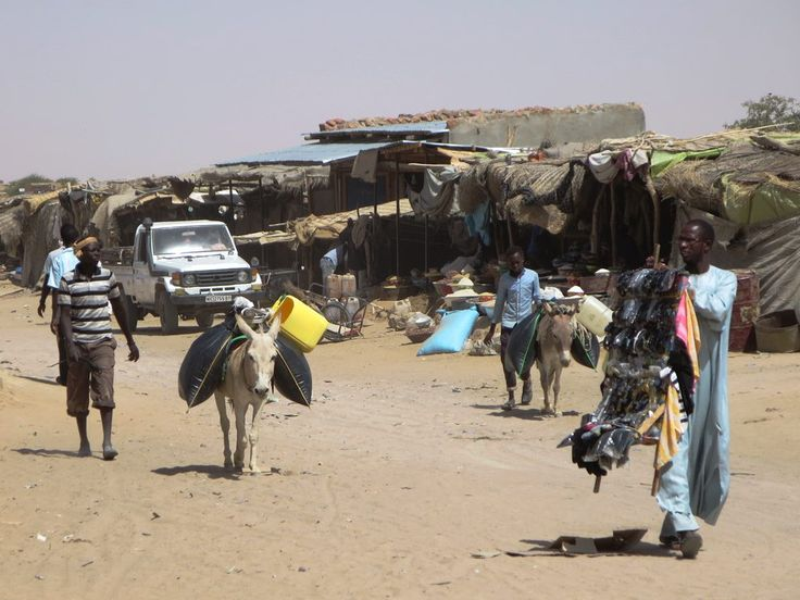 Kalait is one of the few supply centers between Abeche and Fada in northeastern Chad, Central Africa.