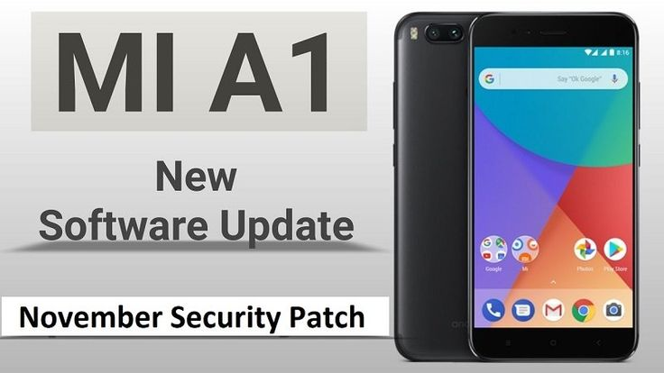 Xiaomi Mi A1 starts receiving the November Security patch
