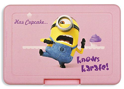 Despicable Me 2 Minions Lunch Box Has Cupcakes... @ niftywarehouse.com #NiftyWarehouse #Nerd #Geek #Entertainment #TV #Products