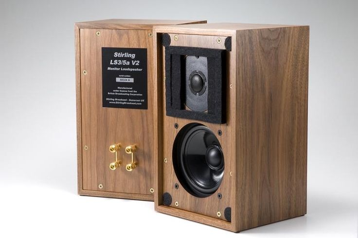These look nice....Stirling Broadcast LS3-5A / BBC Monitor. The LS3-5A was always great for speech, don't understand why folk attempt to play music through them though?