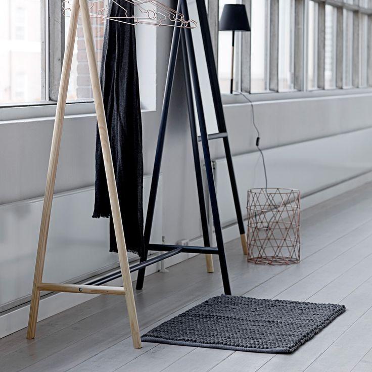 Fabulous Emil u Paula Bloomingville NEU Teppich Handloom Loop Dunkelgrau online kaufen