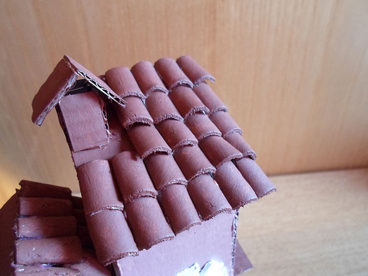 How To Make Miniature Roof Tiles Out Of Clay Techniques
