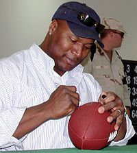 Bo Jackson - Bessemer native, AU allstar in baseball and football, Heisman Trophy winner and pro in both sports.