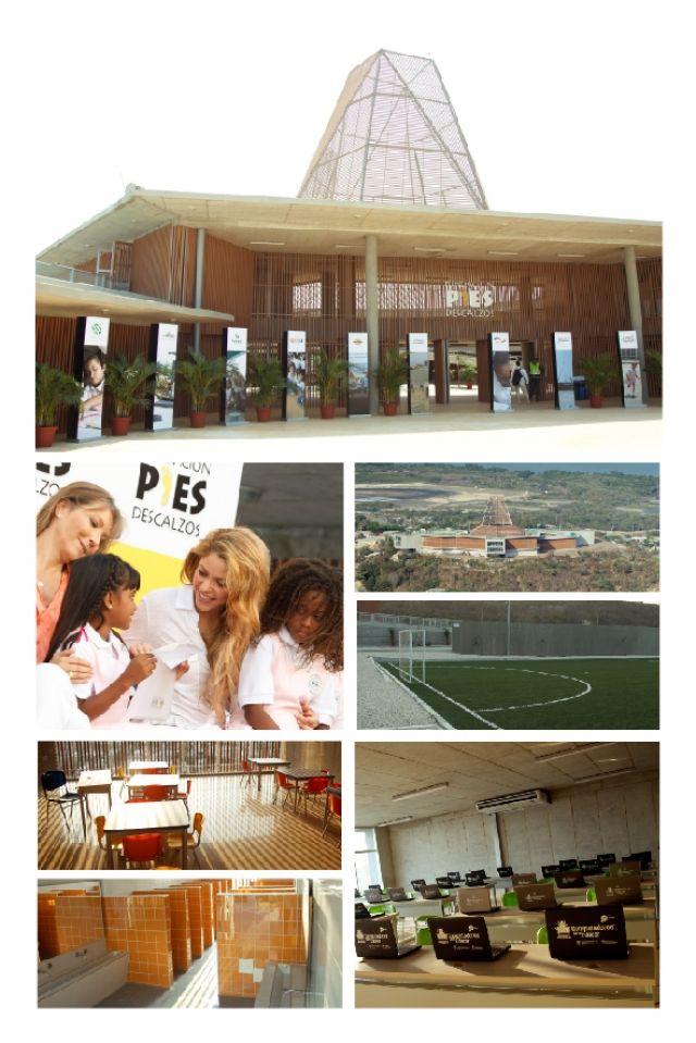 Institución Educativa Fundación Pies Descalzos - Lomas del Peyé El colegio Lomas del Peyé, Cartagena, se encuentra dentro de una comunidad en situació...