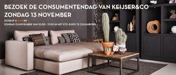 Schrijf u in voor de consumentendag op 13 november 2016 bij Keijser&Co