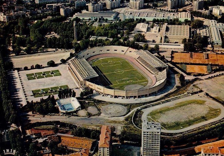 Estadio Velodrome (Olympique de Marsella) en los años 50.