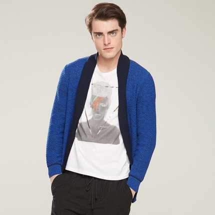 ICYMI: Hot Sale 2015 Men Knitted Cardigans Sweater Fashion Mens Casual Cardigan Coat Ja