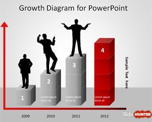 24 best ceo ppt images on pinterest powerpoint presentations free growth diagram template for powerpoint is a simple presentation template for business created in powerpoint toneelgroepblik Gallery