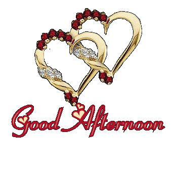 Good Afternoon With Hearts